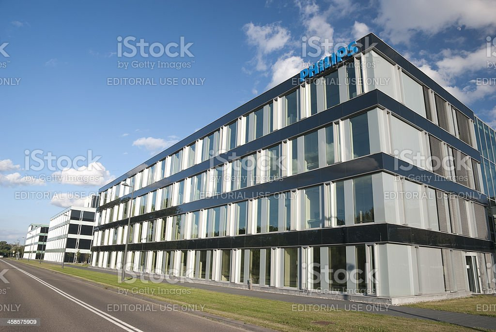 Philips office building in Eindhoven stock photo