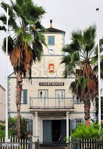 istock Philipsburg courthouse, Sint Maarten / Saint Martin, Caribbean 501971882