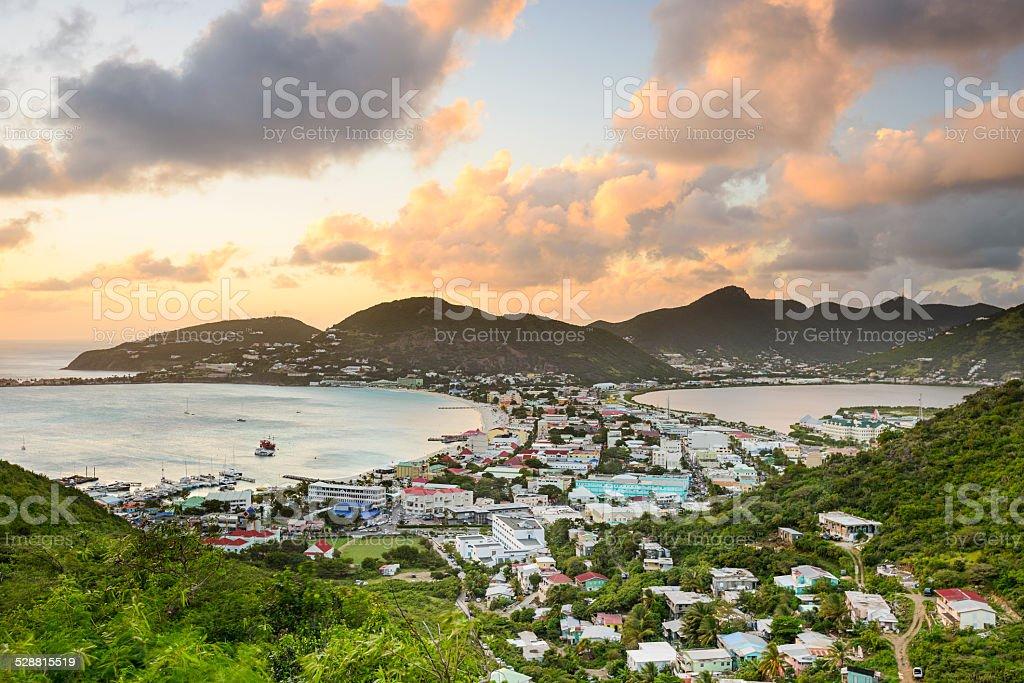 Philipsburg, Sint Maarten stock photo