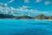 Philipsburg, St. Maarten, the Cruise Port.