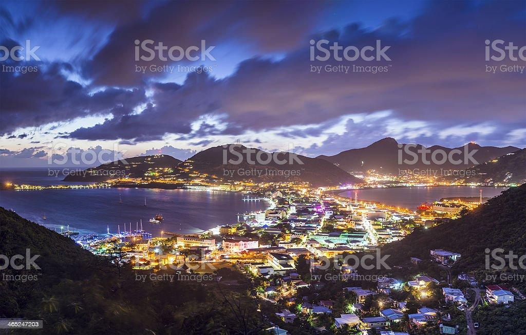 Philispburg, Sint Maarten, Dutch Antilles stock photo