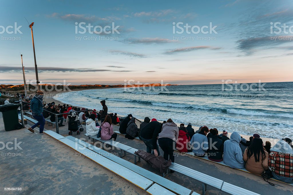 Phillip island Melbourne stock photo