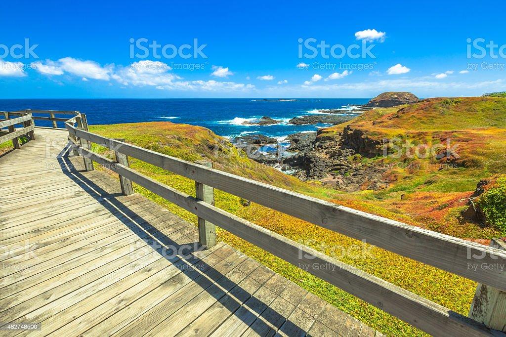 Phillip Island Victoria stock photo
