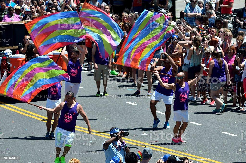 Philly Pride Parade stock photo