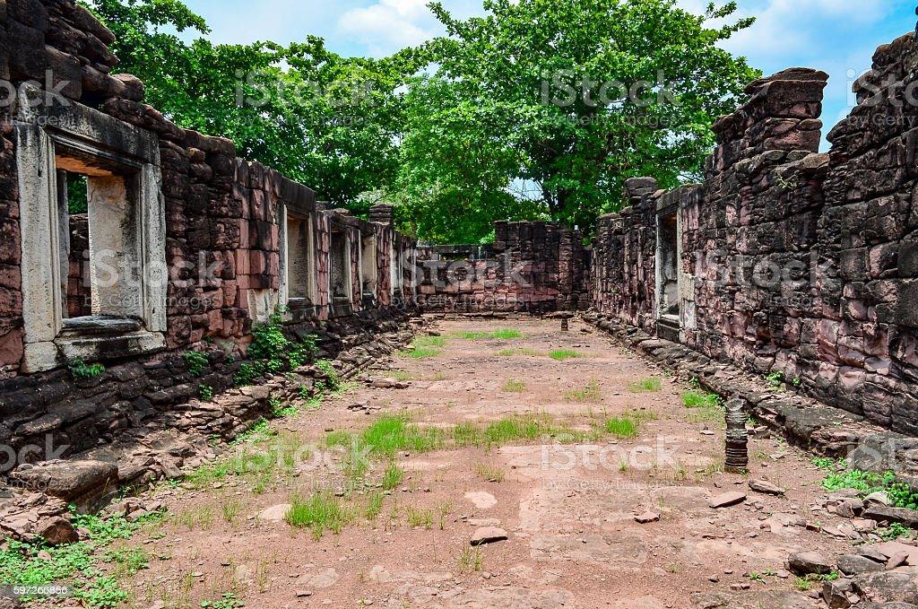 Phimai Stone Castle, Thailand royalty-free stock photo
