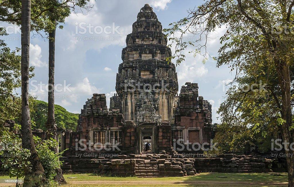 Phimai Temple royalty-free stock photo