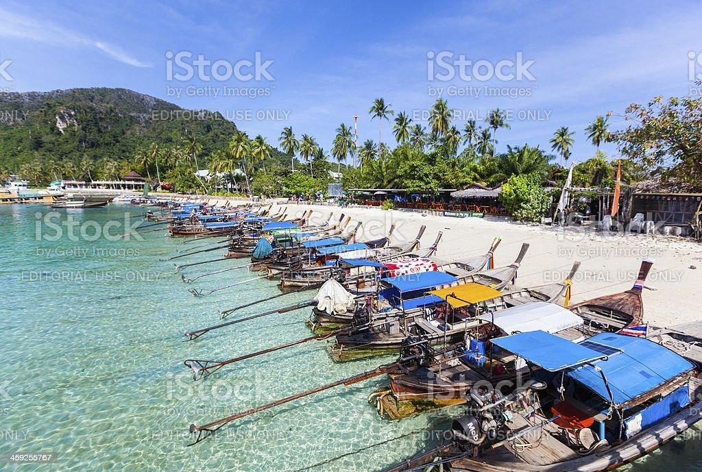 Phi-Phi Don Island royalty-free stock photo