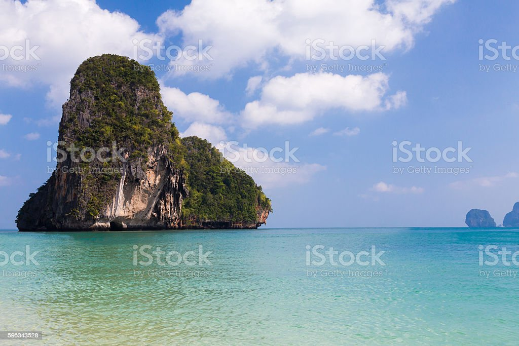 Phi-Phi Island south of Thailand royalty-free stock photo