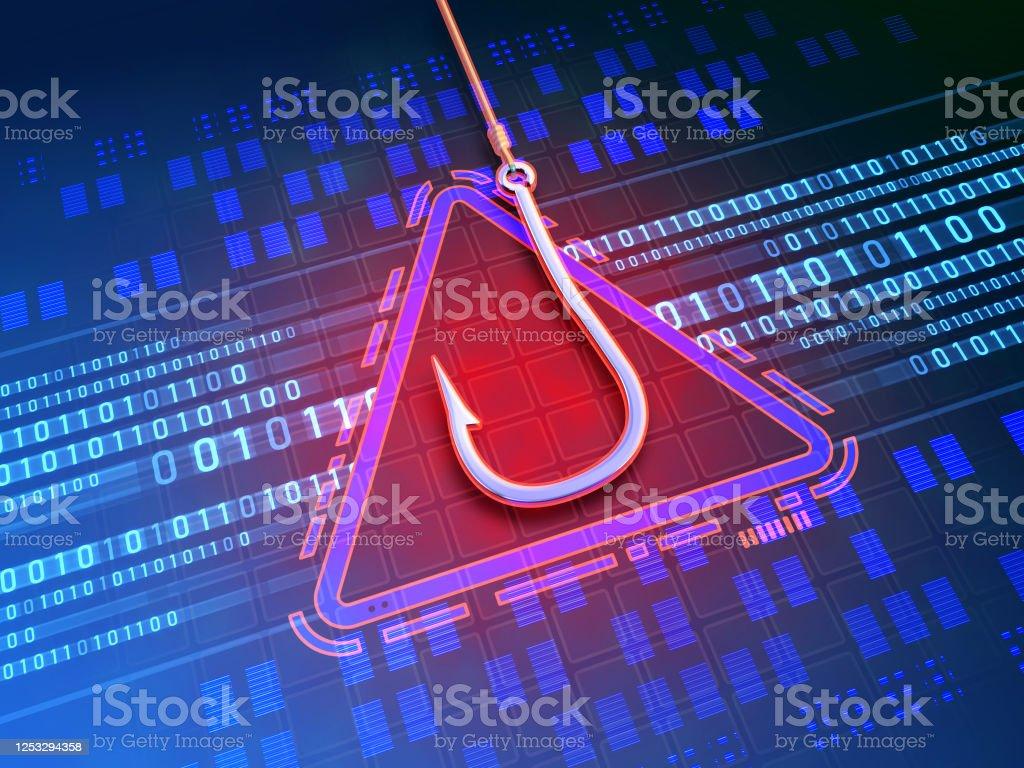 Attacco di phishing - Foto stock royalty-free di Accessibilità