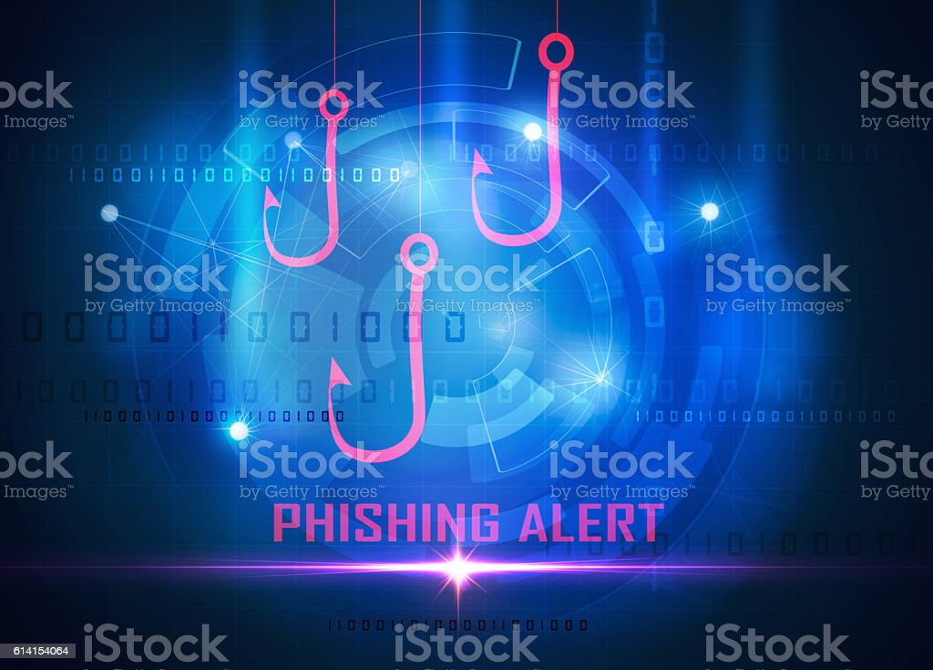 phishing computer data steal stock photo