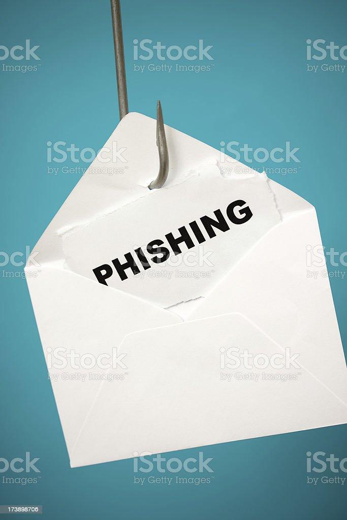 Phishing e-mail royalty-free stock photo