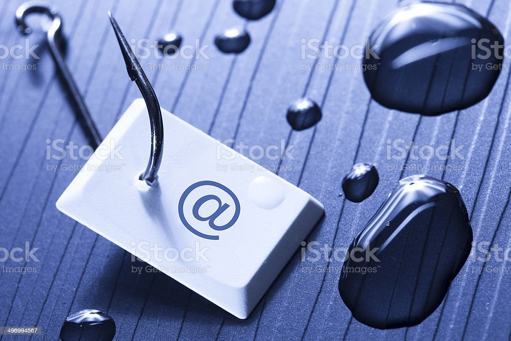 Phishing Email stock photo