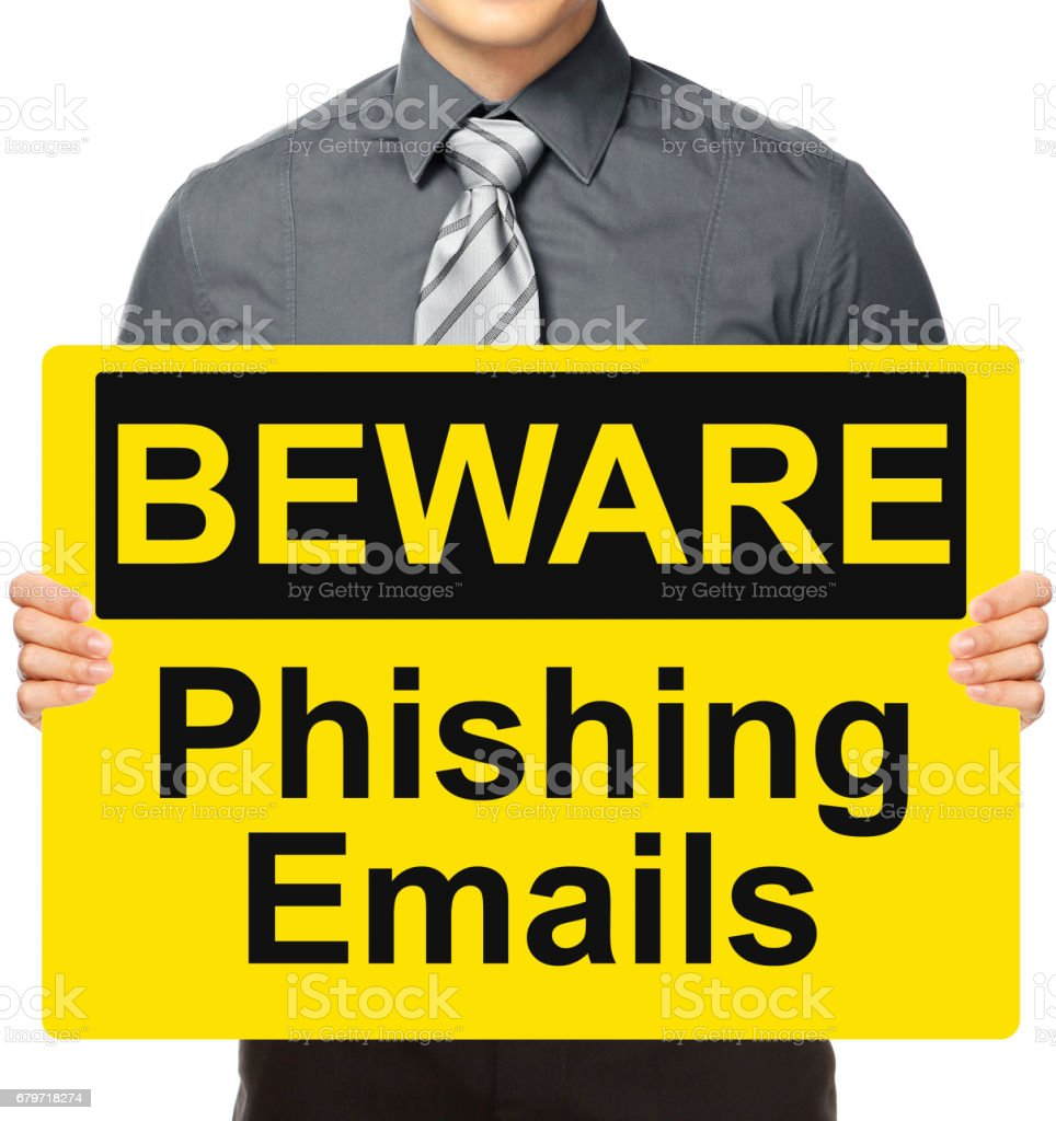 Phishing Emails stock photo