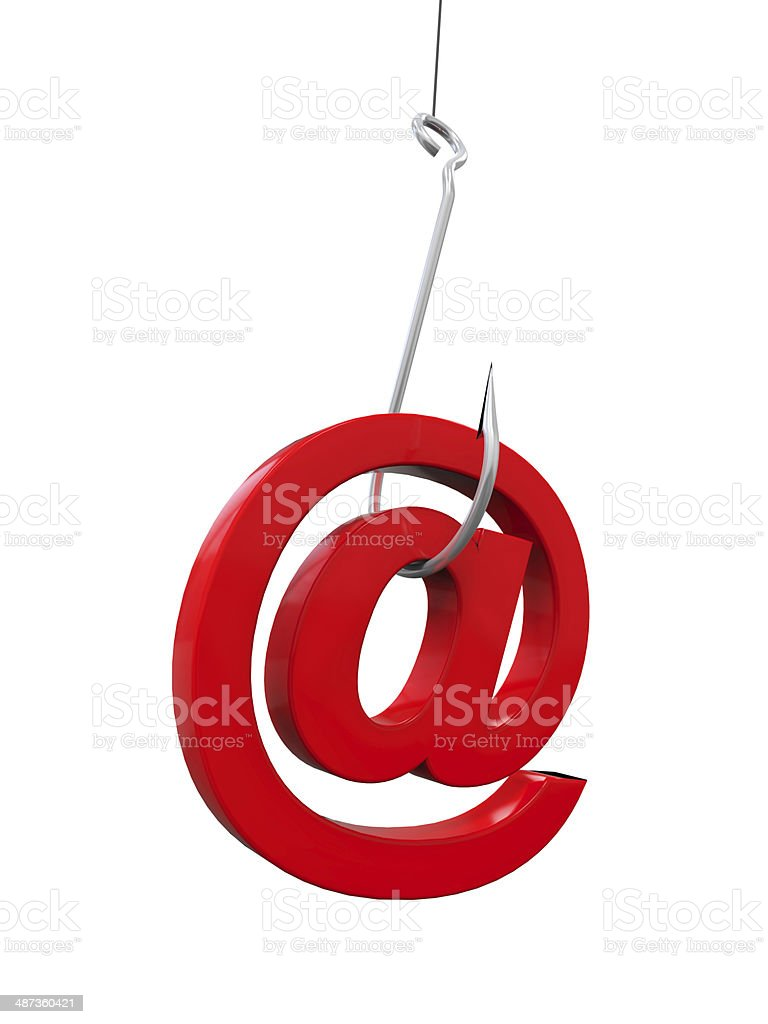 Phishing Fraud Online stock photo