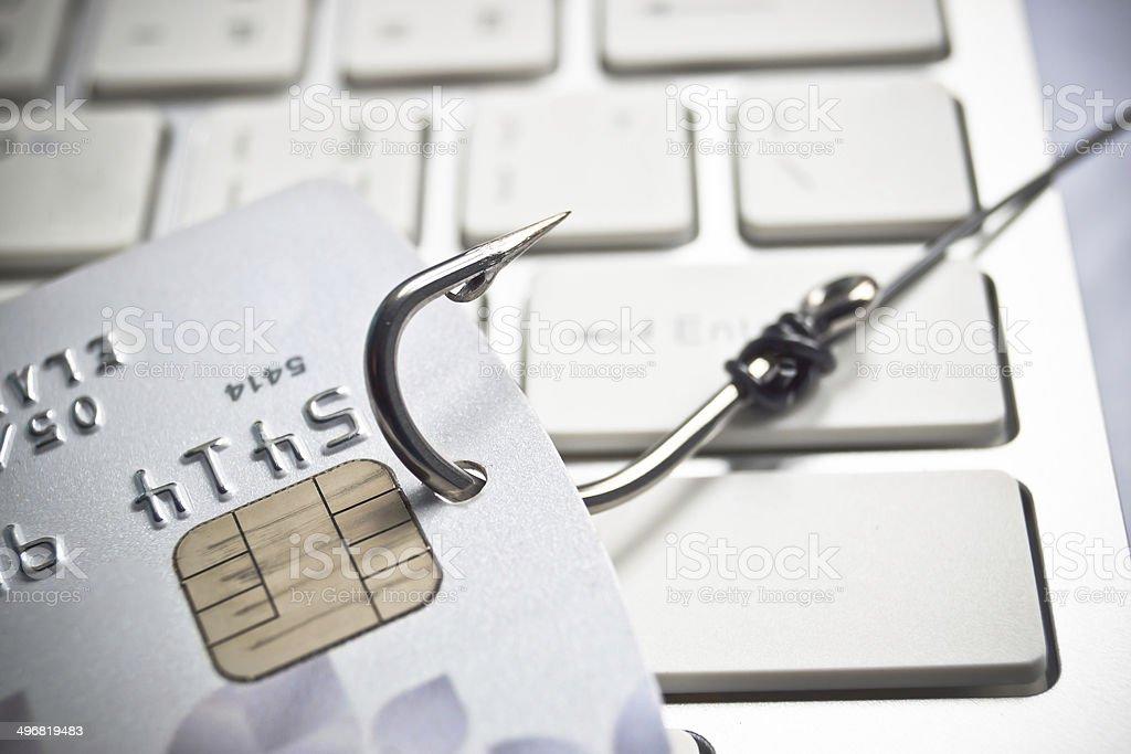 anti-phishing - Foto stock royalty-free di Affari