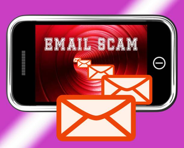 phishing-betrug e-mail-identität alert 3d-rendering - bankhaken stock-fotos und bilder