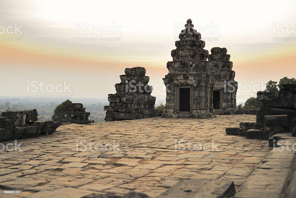 Phnom Bakheng temple royalty-free stock photo