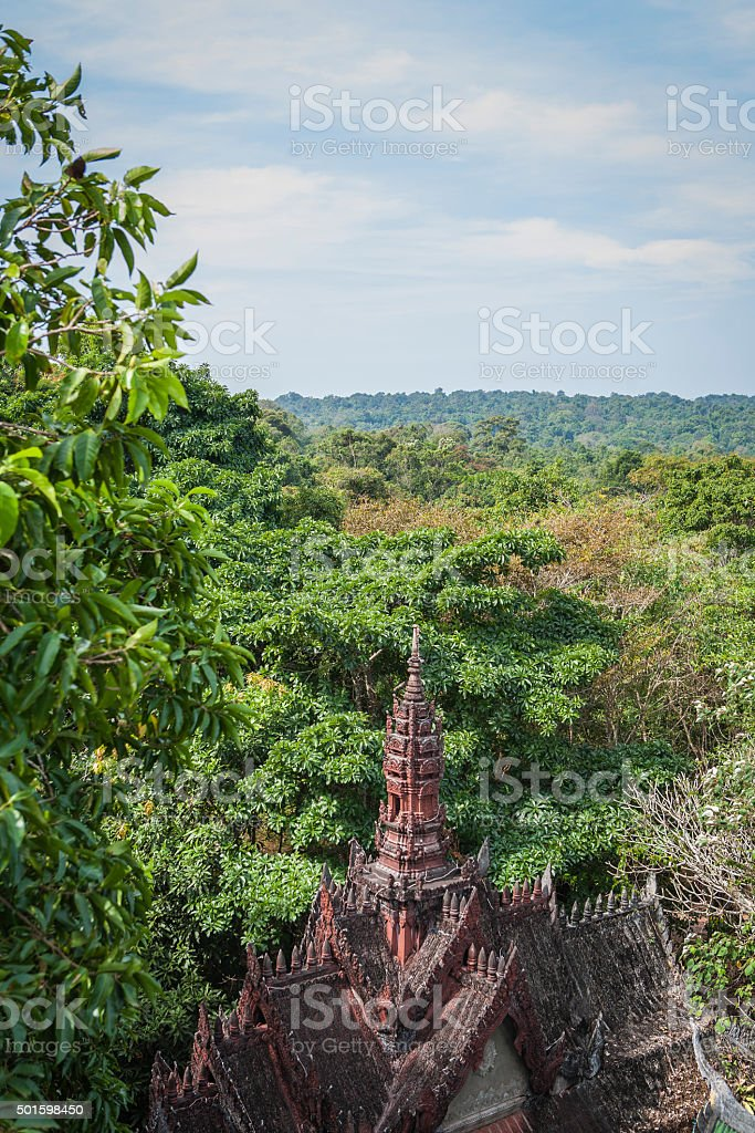 Phnom Kulen stock photo