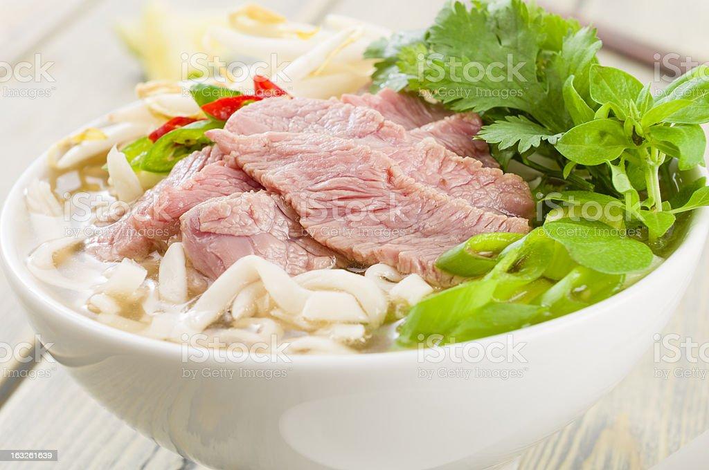 Pho Bo stock photo