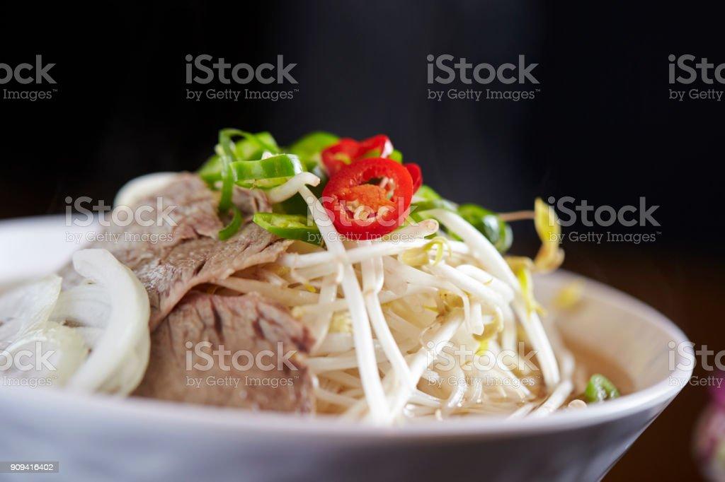 Pho noodle stock photo