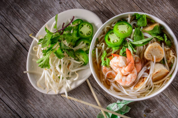 Best Seafood Pho Stock Photos, Pictures & Royalty-Free Images - iStock