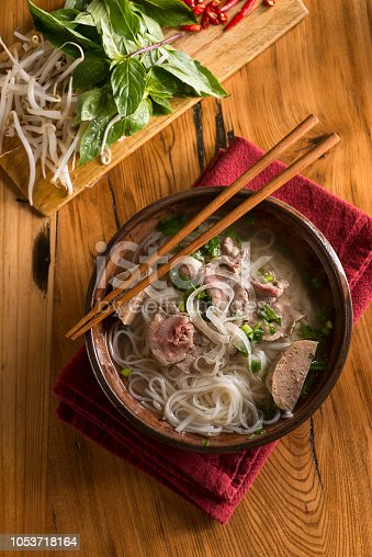 Pho Noodles with Beef