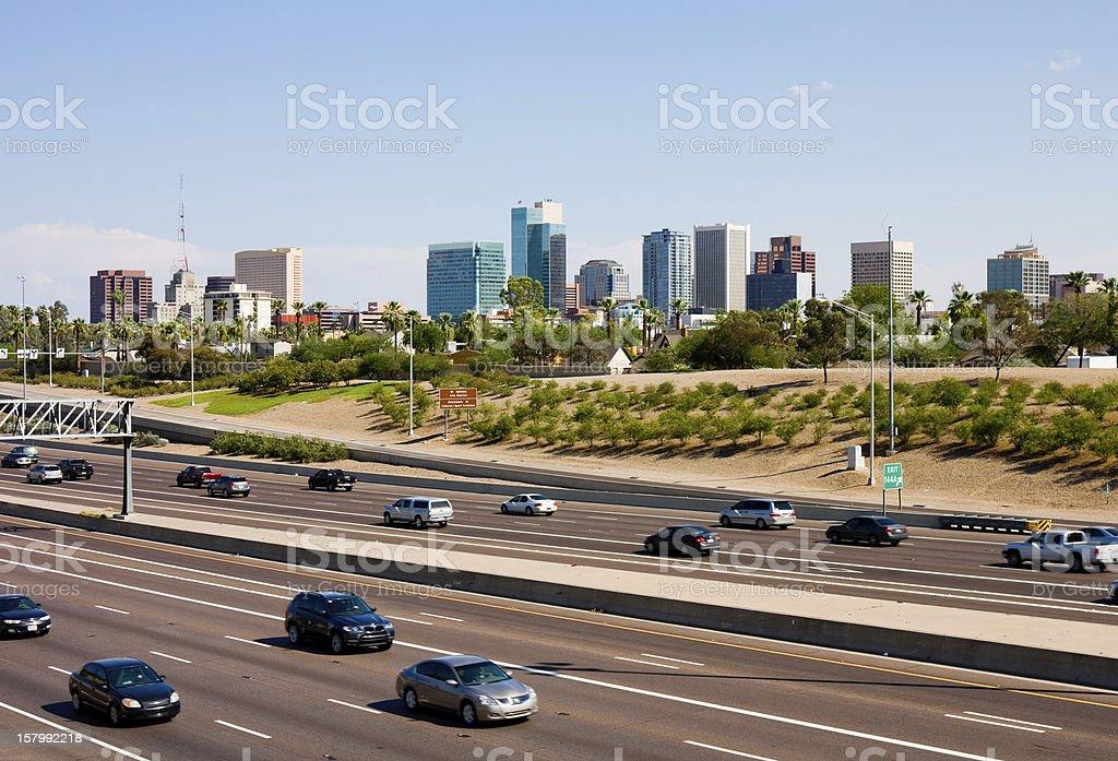 Phoenix Arizona stock photo