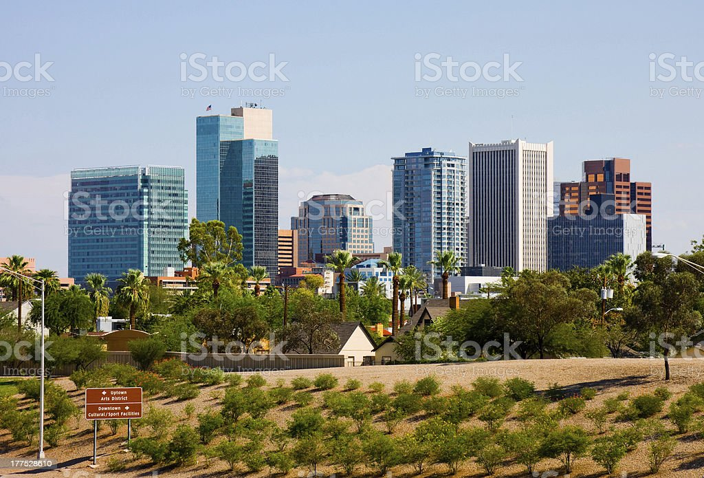 Phoenix Arizona royalty-free stock photo