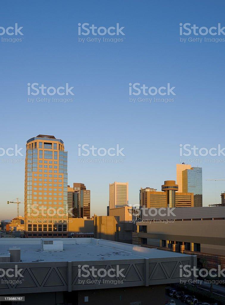 Phoenix at Sunrise royalty-free stock photo