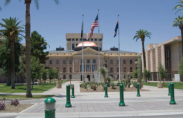 Phoenix Capitol stock photo