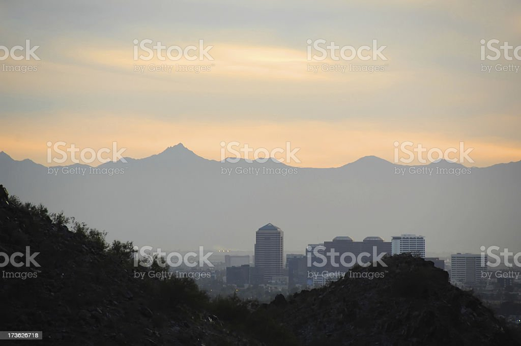 Phoenix, Desert City royalty-free stock photo