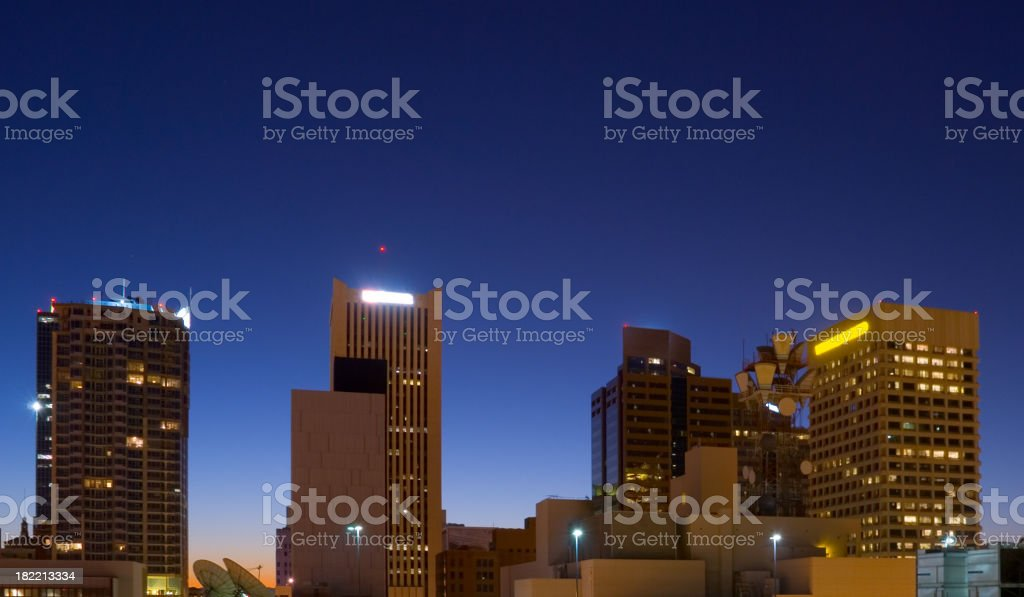 Phoenix Downtown buildings at Dawn royalty-free stock photo