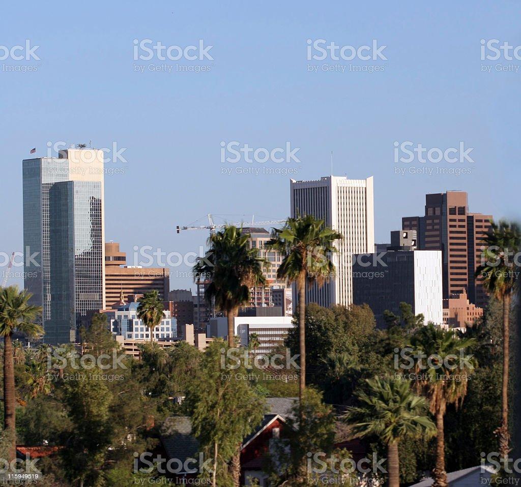 Phoenix Downtown royalty-free stock photo