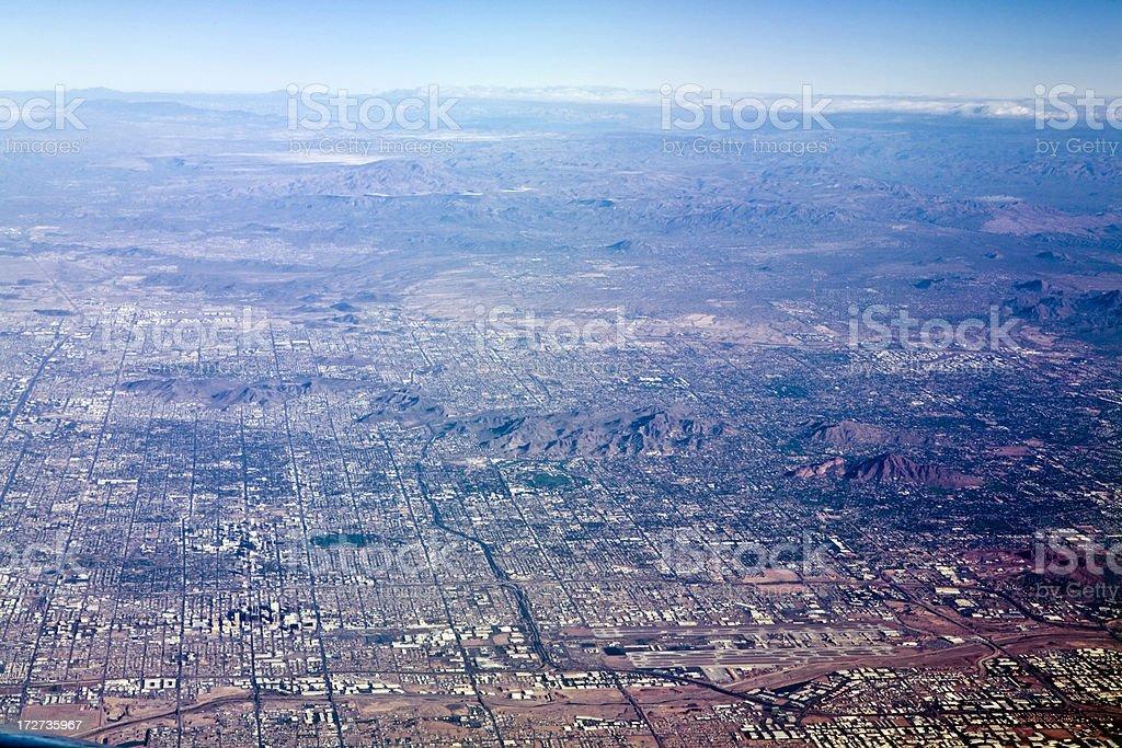 Phoenix From The Sky stock photo