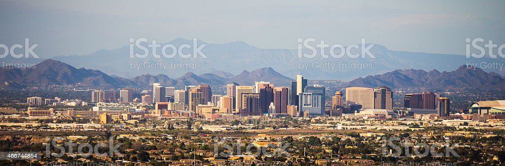 Phoenix in day light stock photo