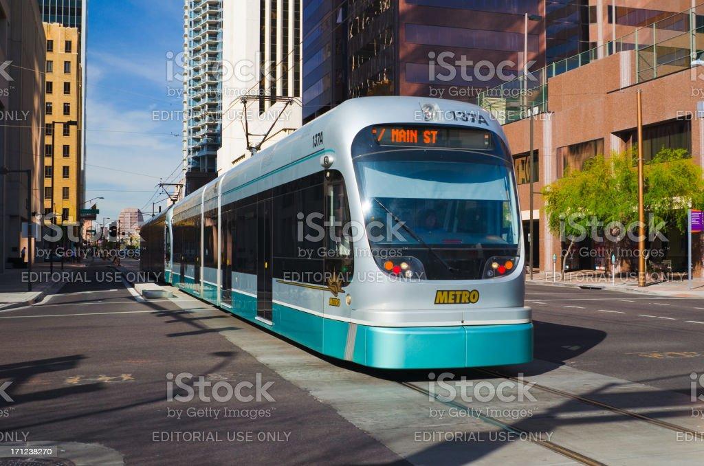 Phoenix Metro Light Rail royalty-free stock photo