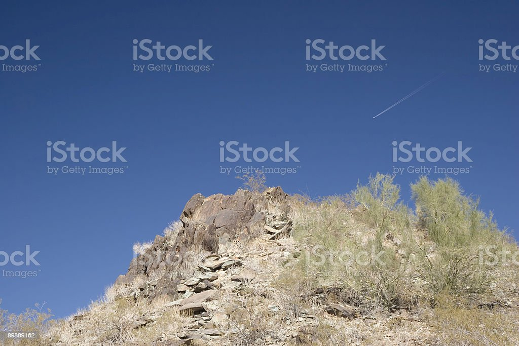Phoenix North Mountain Slope, AZ royalty-free stock photo