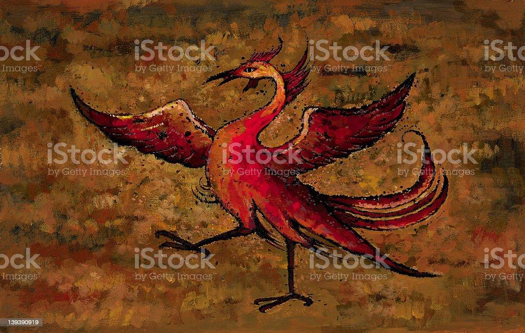 De Phoenix - foto de stock