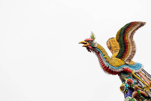 Escultura de Phoenix - foto de stock