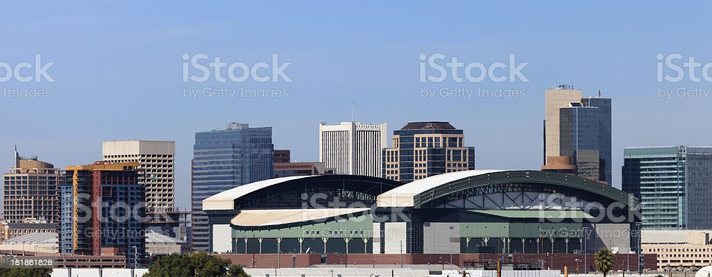 Phoenix Skyscrapers royalty-free stock photo