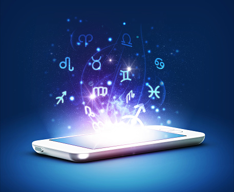 istock Phone and zodiac 465431150