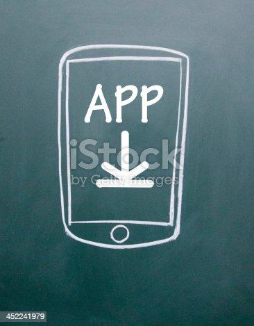 istock phone app download sign 452241979
