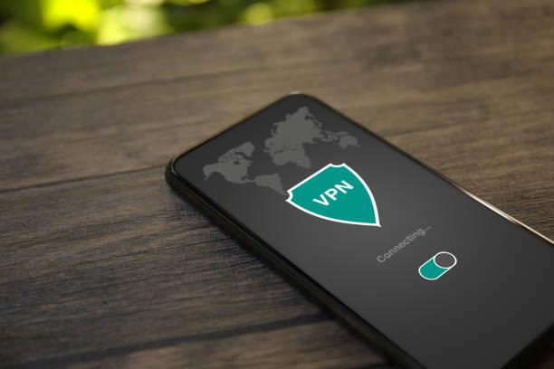 telefon app vpn skapa internet-protokoll för skydd privat nätverk - vpn bildbanksfoton och bilder