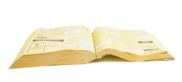 phone book open phonebook,, telephone directory stock pictures, royalty-free photos & images
