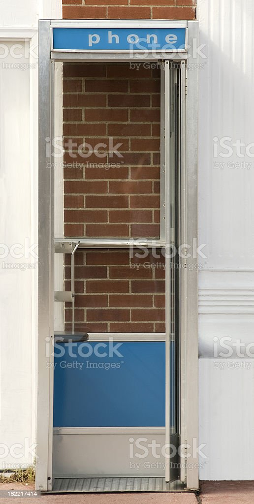 Phone Booth royalty-free stock photo