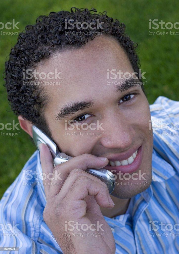 Phone Boy royalty-free stock photo