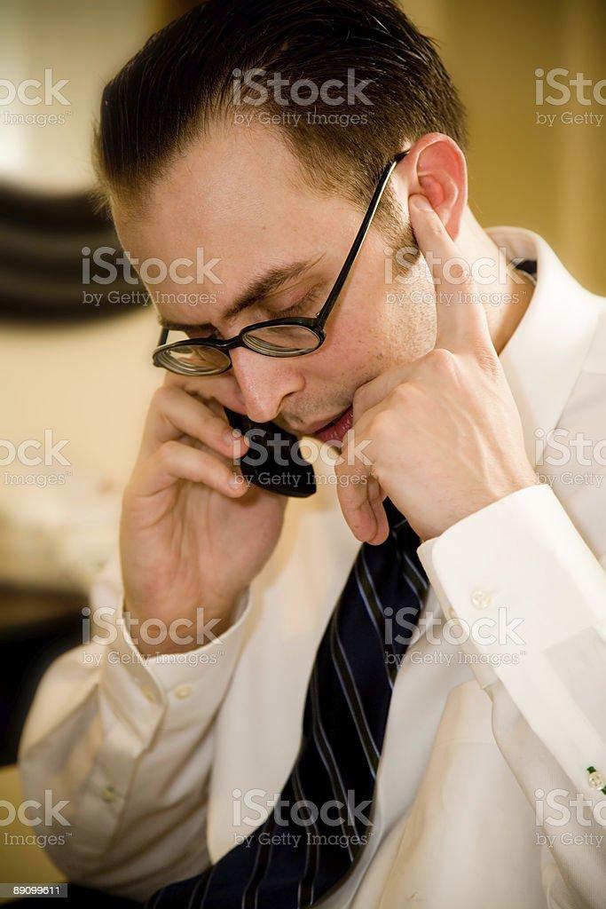 Phone call royalty-free stock photo