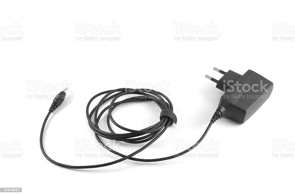 phone charger royalty-free stock photo