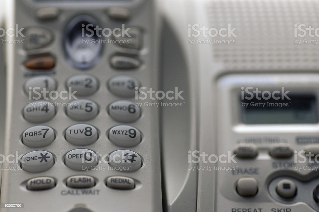 Phone Close-up royalty-free stock photo