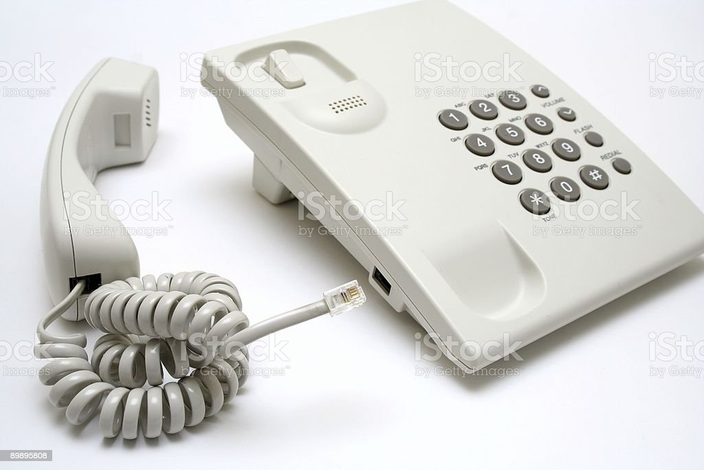 Phone connection royalty-free stock photo